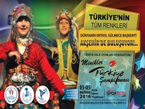 Türkiye'nin tüm renkleri Akşehir'de buluşuyor