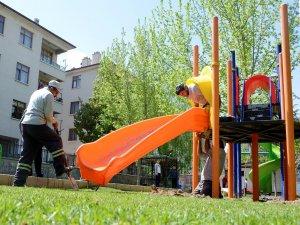 Meram'daki parklar elden geçiriliyor