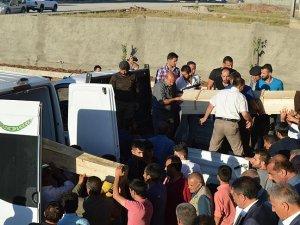 Silopi'deki terör saldırısında hayatını kaybedenler toprağa verildi