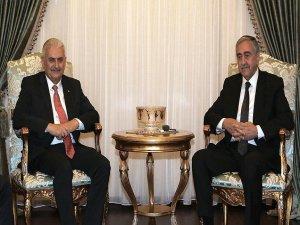 KKTC Cumhurbaşkanı Akıncı ile Başbakan Yıldırım görüştü