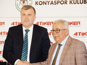 Artık resmen Atiker Konyaspor