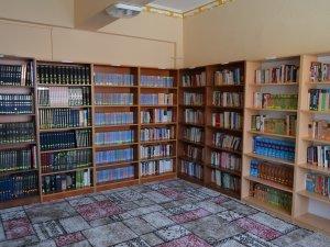 Kulu'da restore edilen kütüphane hizmete girdi