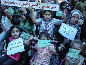 Gazze'de ablukaya karşı sessiz eylem