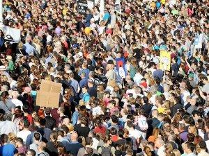 Hırvatistan'da 'eğitim' protestosu