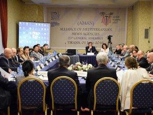 Akdeniz Haber Ajansları Birliği'nde yeni yönetim kurulu seçildi
