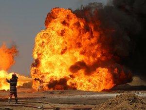 Kerkük Habbaza petrol kuyularındaki yangın söndürülemiyor