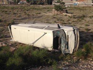 Konya'da minibüs devrildi: 8 yaralı