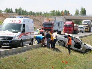 Ereğli İlçe Emniyet Müdürü ve AK Parti İlçe Başkanı kaza yaptı