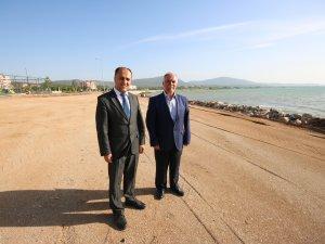 Beyşehir Belediyesi'nden 'çocuklara özel' plaj