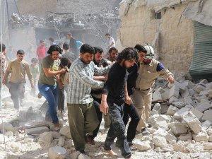 Halep'e füze saldırısı: 5 ölü, 7 yaralı