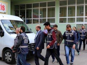 Erzurum merkezli FETÖ/PDY operasyonunda 12 şüpheli adliyede