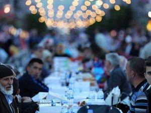 Ramazan sofraları binlerce kişiyi misafir edecek