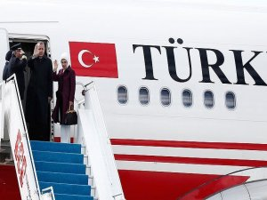Turkish President Erdogan arrives in Somalia