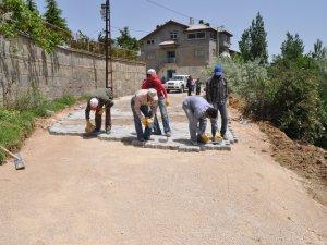 Seydişehir'de bozuk yollara düzenleme