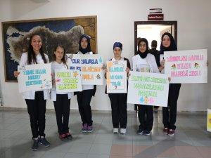 """Beyşehir Devlet Hastanesi'nde """"El Hijyeni"""" etkinliği"""