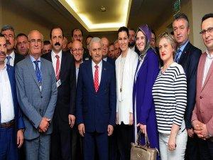 AK Parti Samsun Teşkilatı Başbakan Yıldırım ile buluştu