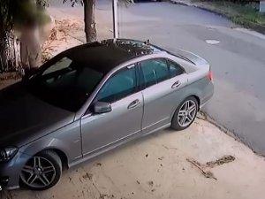 Komşusunun otomobilini çizen kişiye ceza