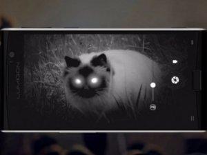 Dünyanın ilk gece görüş kameralı telefonu