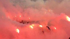 Hollanda'da Beşiktaş coşkusu