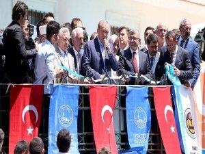 Erdoğan: Çamlıca'da bir mabedimiz yükseliyor