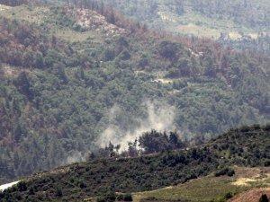 Suriye'de rejim güçlerinin Türkmendağı'na saldırıları sürüyor