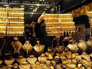 Altının gramı 2 haftanın zirvesinde