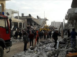 Russian warplanes kill 7 civilians in NW Syria