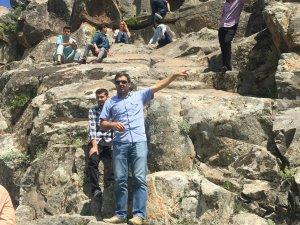 Beyşehir'de turizm bölümü öğrencileri tarihi mekanları gezdi