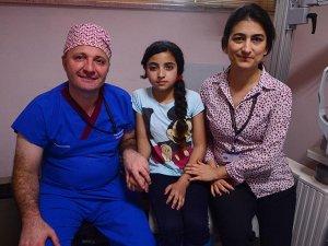 Savaşta gözünü kaybeden Sidra'ya üniversiteden yardım eli