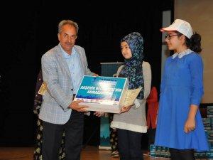 Akşehir bir milyon kitaba koşuyor ödül töreni yapıldı