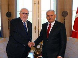 Başbakan Yıldırım AKPM Başkanı Agramunt ile görüştü