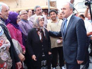 Vali Erol, Konya'ya veda etti