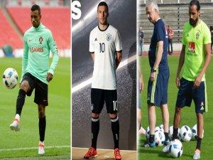 Süper Lig'den 15 futbolcu EURO 2016'da