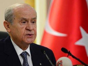 Bahçeli: Türkiye'yi istikrarsızlığa gömmek isteyen kansızların hesabı görülmelidir