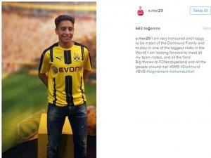 Emre Mor, Dortmund ile imzaladı