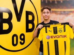 Bursaspor'un beğenmediği Emre Mor dünya devi B.Dortmund'ta