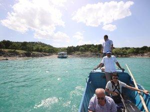 Hacıakif Adası turizme kazandırılıyor