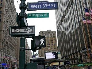 Muhammed Ali'nin adı New York'ta bir sokağa verildi