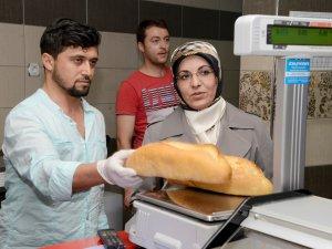 Meram'da fırınlara ramazan denetimi