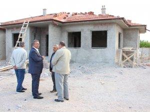 Karatay Belediyesinden şehit ailesine ev