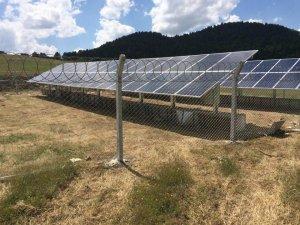 Derebucak'ta su pompalarının enerjisi güneşten