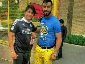 'Sünger Bob' pantolonu giyen futbolcuya 6 ay men cezası