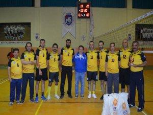 Hüyük'te kurumlararası voleybol turnuvası