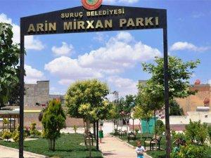 Suruç'taki parka PYD'li canlı bombanın adı verildi