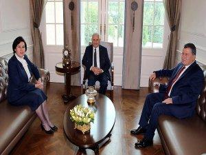 Başbakan Yıldırım Yargıtay ve Danıştay başkanlarını kabul etti