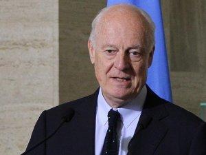 Mistura: Suriye görüşmelerinin yeni turu için şartlar olgunlaşmadı