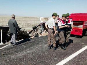 Konya'daki kazada ölü sayısı 10'a yükseldi, 4 yaralı