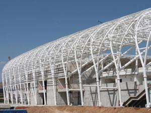 Malatya Arena'da çalışmalar Ramazan'da da devam ediyor