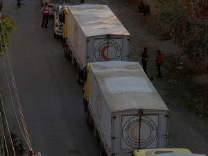 Dareyya'ya 2012'den bu yana ilk kez gıda yardımı ulaştı