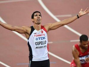 Milli atlet Yasmani Diamond Lig'de birinci oldu